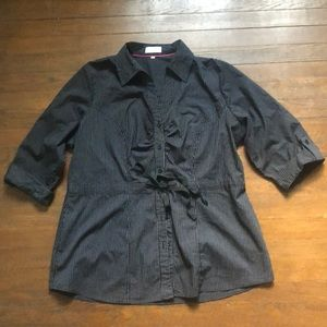 3/4 Sleeve Maurices button up